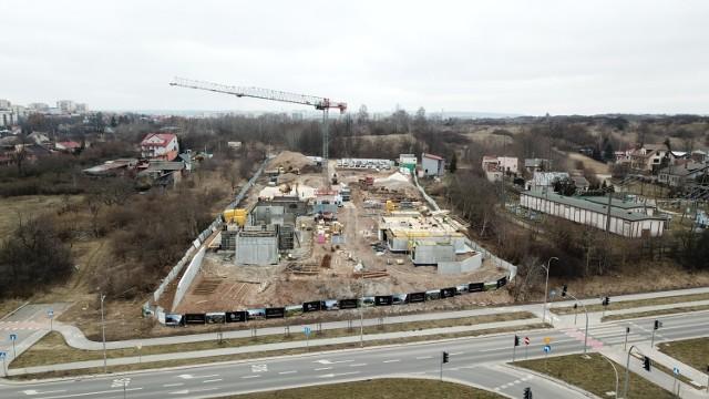Tak obecnie wygląda plac budowy