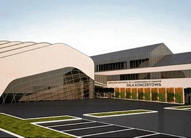Przyszła sala koncertowa przy Szkole Muzycznej w Tarnowie miałaby być dopełnieniem jej kompleksu  edukacyjnego