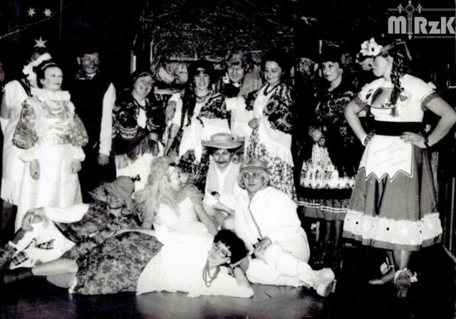 Bal przebierańców - stołówka WSK, 1985