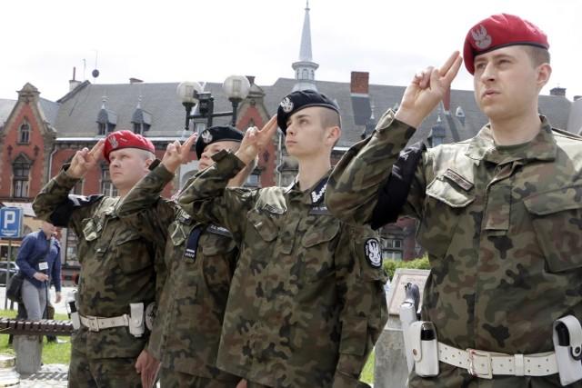 Obchody Święta Żandarmerii Wojskowej w Grudziądzu