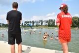 Kąpielisko w Wąsoszu ma powodzenie. Plażowiczów tłum. A jakie ceny w tym sezonie? [zdjęcia]