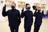 Lubelski garnizon ma 40 nowych policjantów. 11 z nich w środę złożyło ślubowanie. Zobacz zdjęcia