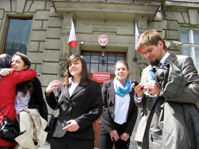 Maturzyści z Bielska-Białej