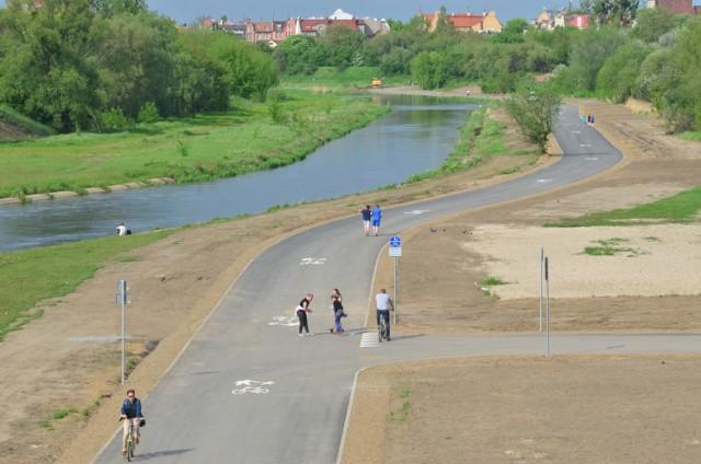 Z dotychczas zbudowanych odcinków Wartostrady chętnie korzystają spacerowicze i rowerzyści.