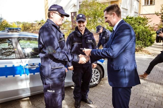 Skierniewicka policja chce między innymi zakupić nowe samochody