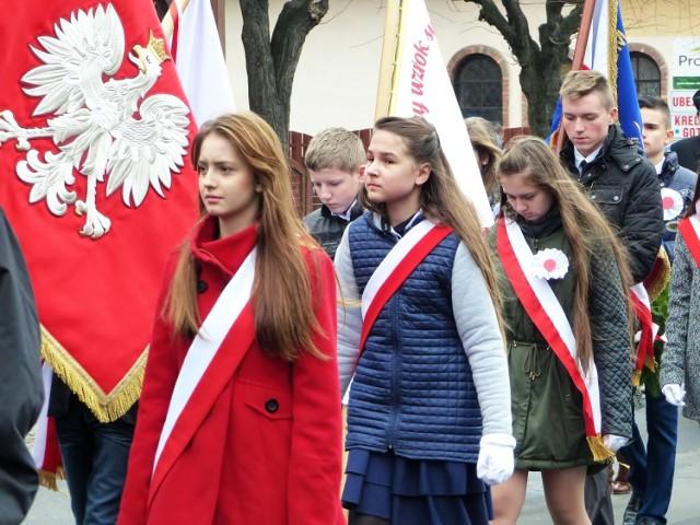 Święto Niepodległości w Złoczewie. Rok 2015.
