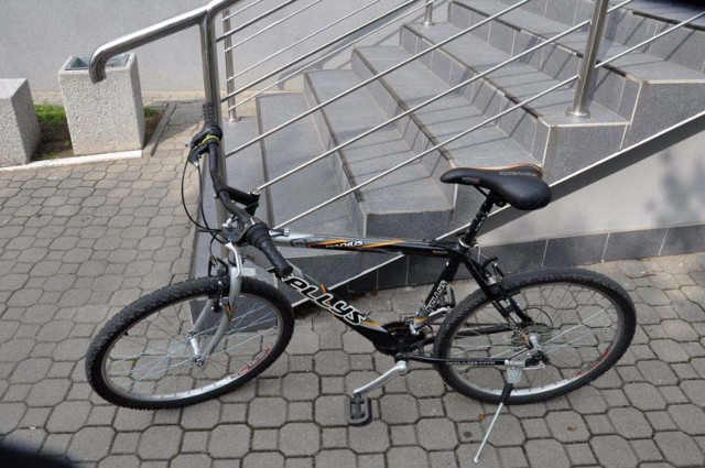 Odnaleziony w Bielsku Podlaskim rower czeka na swojego właściciela