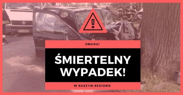 W tragicznym wypadku w Dobrzejewicach zginął kierowca.