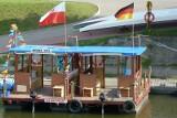 28 czerwca trzy tratwy wpłyną do Kostrzyna. Trwa Polsko - Niemiecki Spływ Tratw Odra Tour 2012