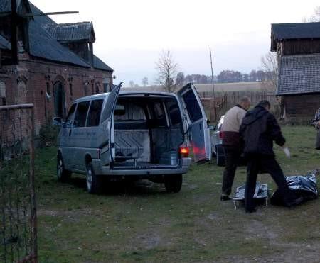 Roman H. w Doręgowicach najpierw zabił żonę, a potem z tej samej broni strzelił do siebie. Fot. Maria Sowisło