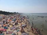 W weekend cały Szczecin pojechał nad morze? Tak wyglądała plaża w Międzyzdrojach