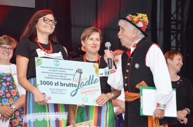 Główną nagrodę w konkursie na łowicką zupę ogórkową zdobyły gospodynie z Klewkowa