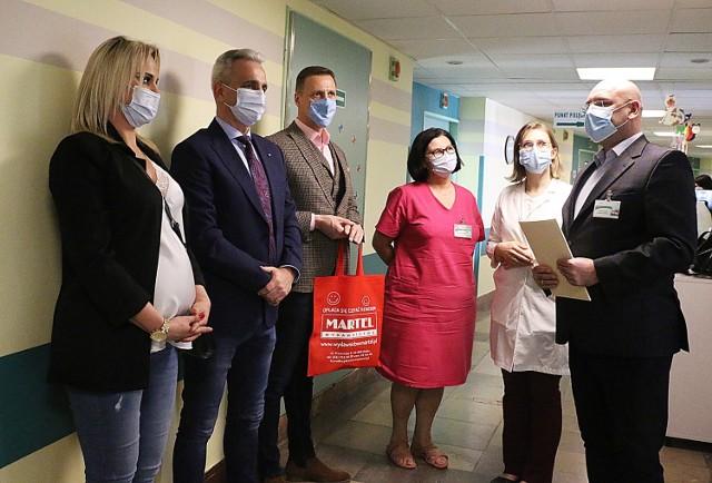 Szpital w Kaliszu z kolejną biblioteczką dla dzieci od wydawnictwa Martel