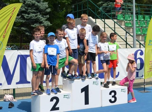 Lekkoatletyczne Grand Prix Sieradza dla ponad 70 zawodników z podstawówek