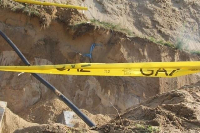 Rozszczelnienie gazociągu w Tarnowskich Górach. Gaz się zapalił. Są ranni