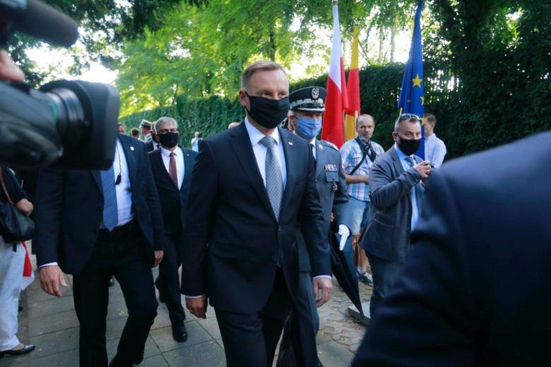 Prezydent Andrzej Duda ma koronawirusa | Pleszew Nasze Miasto