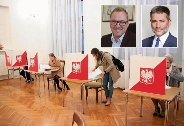 W budynku dawnego ratusza Tomasz Latocha dostał w I turze 294 głosów, Sławomir Pater - 211, a Grzegorz Wawryka - 117 głosów