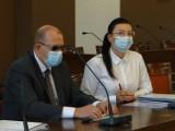 O finansach i nerwowej atmosferze w służbie zdrowia na komisji