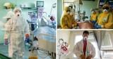 Te zdjęcia mówią więcej niż tysiąc słów! Tak lekarze w Śląskiem walczą z koronawirusem