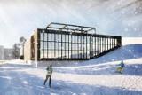 Kraków. Ogłoszą przetarg na budowę Centrum Sportów Zimowych z basenami i lodowiskami [WIZUALIZACJE]