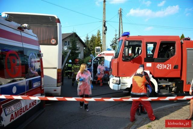 Do wypadku doszło 24 września 2021 roku w Pankach w powiecie kłobuckim  Zobacz kolejne zdjęcia. Przesuwaj zdjęcia w prawo - naciśnij strzałkę lub przycisk NASTĘPNE