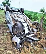 Gm. Wronki. W Ćmachowie zderzyły się samochody osobowe. 3 osoby trafiły do szpitala!