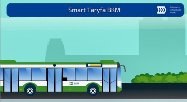 Białostocka Komunikacja Miejska wprowadza opłatę Smart Taryfa BKM