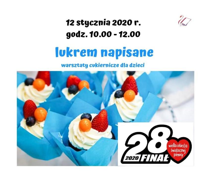 WOŚP 2020. Najmłodsi pomagają - warsztaty cukiernicze dla dzieci - 12 stycznia 2020