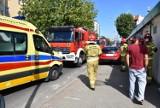 Zderzenie samochodów na skrzyżowaniu ulic Staszica i Legionów. ZDJĘCIA