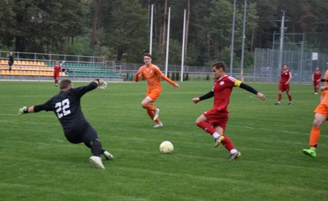 Mecz 3. rundy piłkarskiego Pucharu Polski na szczeblu Lubuskiego Związku Piłki Nożnej - Sparta Łężyca kontra Syrena Zbąszynek