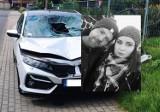 Olkusz. 35-letni Kuba zginął w wypadku spowodowanym przez pijanego kierowcę. Potrącił go hondą na drodze krajowej 94. ZDJĘCIA
