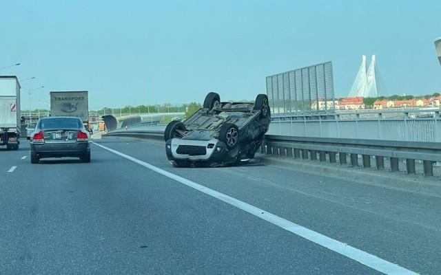 Wypadek na AOW 12.05.2021