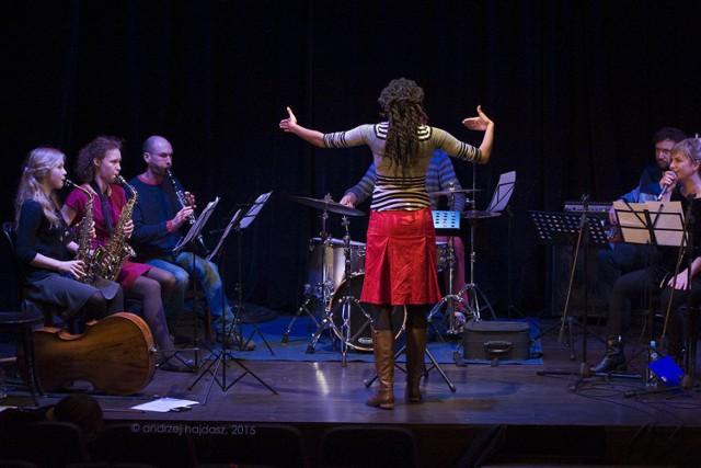 Zajęcia warsztatowe trwają już od 16 listopada a zakończą się 27 listopada wspólnym koncertem. foto. Andrzej Hajdasz
