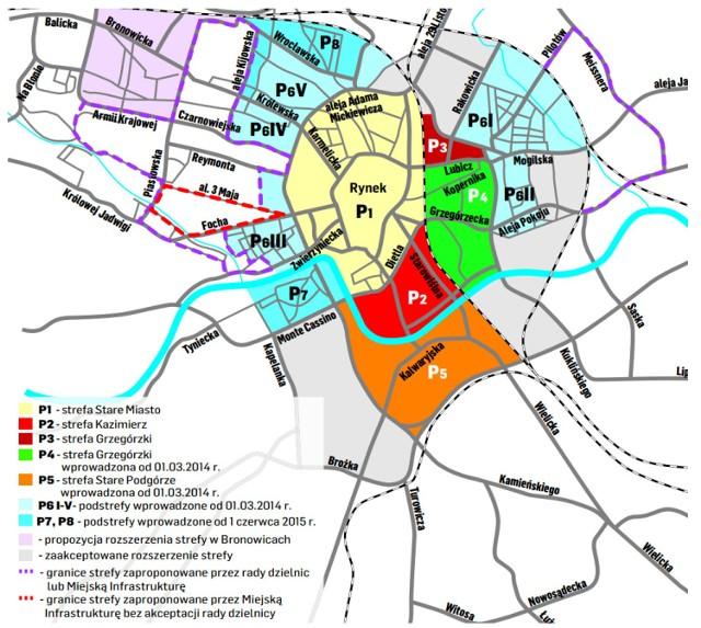 Krakow Coraz Blizej Nowej Wielkiej Strefy Platnego Parkowania