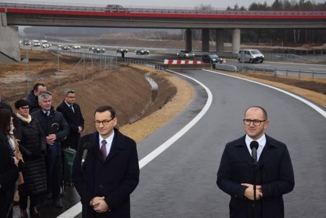 Pierwsze samochody przejechały obwodnicą Częstochowy. Premier otworzył kolejny odcinek A1