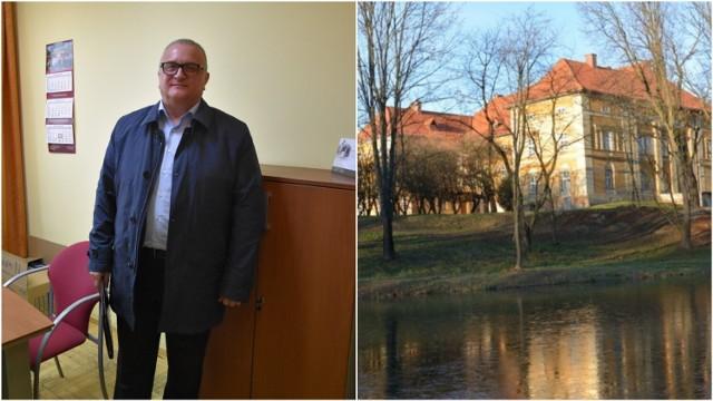 Krzysztof Witkowski jako jedyny złożył ofertę w przetargu na sprzedaż pałacu w Radłowie