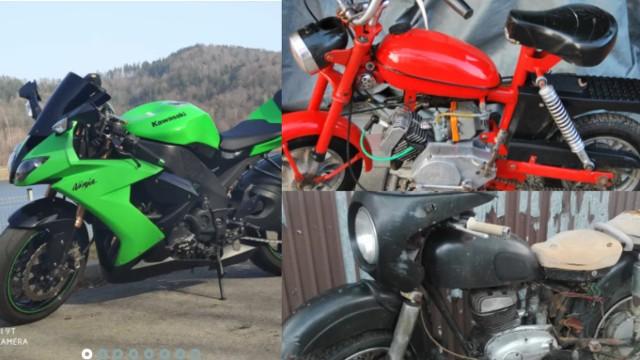 Mieszkańcy Wadowic sprzedają używane motocykle i skutery