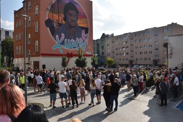 Jest to już drugi mural w ramach powstającej w Opolu trasy turystycznej Muzycznych Murali.