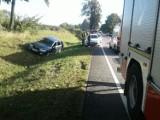 Zabagno, gm. Tczew. Jedna osoba ranna w wypadku na drodze krajowej nr 22 [AKTUALIZACJA]