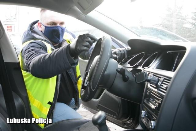 Policjanci z Gubina odzyskali skradzione na terenie Niemiec audi. Za m.in. kradzież pojazdu 23-letni mężczyzna odpowie przed sądem.