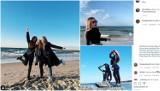 Piękne dziewczyny na plaży w Ustce na Instagramie [ZDJĘCIA]