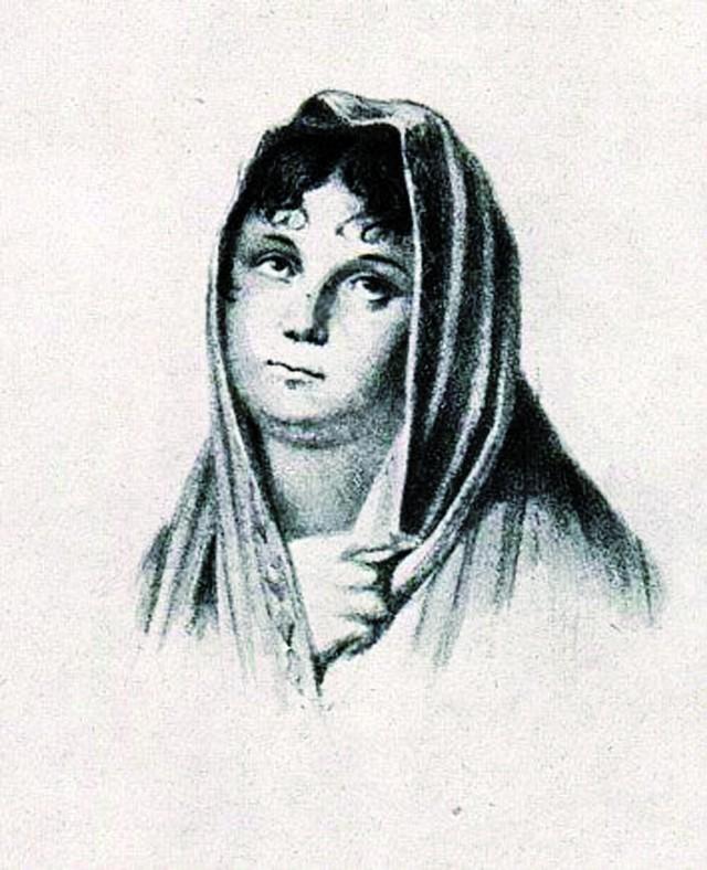 Tak wyglądała Henrietta w czasach swoich największych, teatralnych sukcesów. Została tutaj uwieczniona podczas grania jednej ze swoich ról – mitologicznej Medei