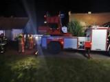 Tragedia w Tragaminie - w pożarze zginął człowiek. Siedem zastępów prowadziło akcję ratowniczo-gaśniczą