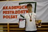Wojciech Kolańczyk złotym medalistą Akademickich Mistrzostw Polski w Krakowie