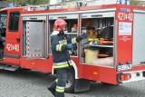 Groźny pożar na Majdanach w Kutnie