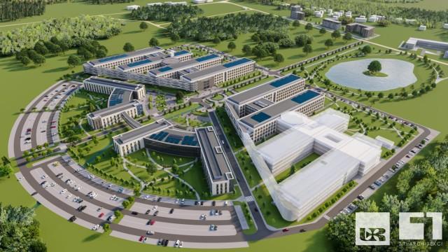 Koncepcja szpitala uniwersyteckiego wypracowywana jest we współpracy Uniwersytetu Rzeszowskiego i pracowni S.T. Architekci.