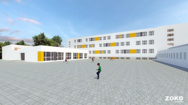 W przebudowanej szkole mają być trzy nowe sale lekcyjne dla klas pierwszych.