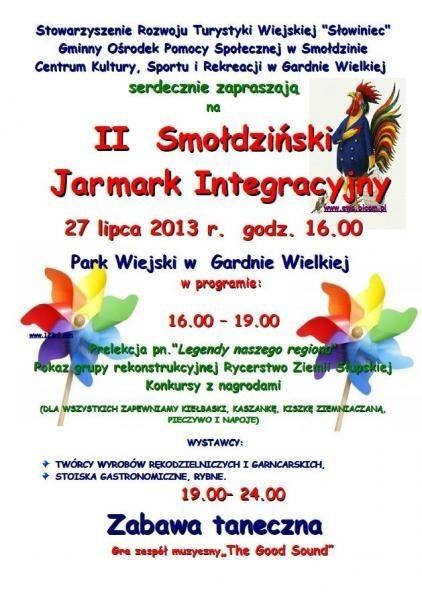 II Smołdziński Jarmark Integracyjny - program