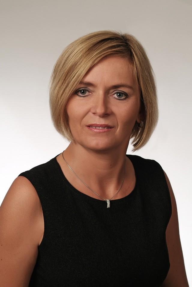 Jolanta Moćko - przewodnicząca Rady Miejskiej w Czeladzi