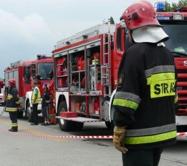 wybuch gazu w Kazimierzu Dolnym